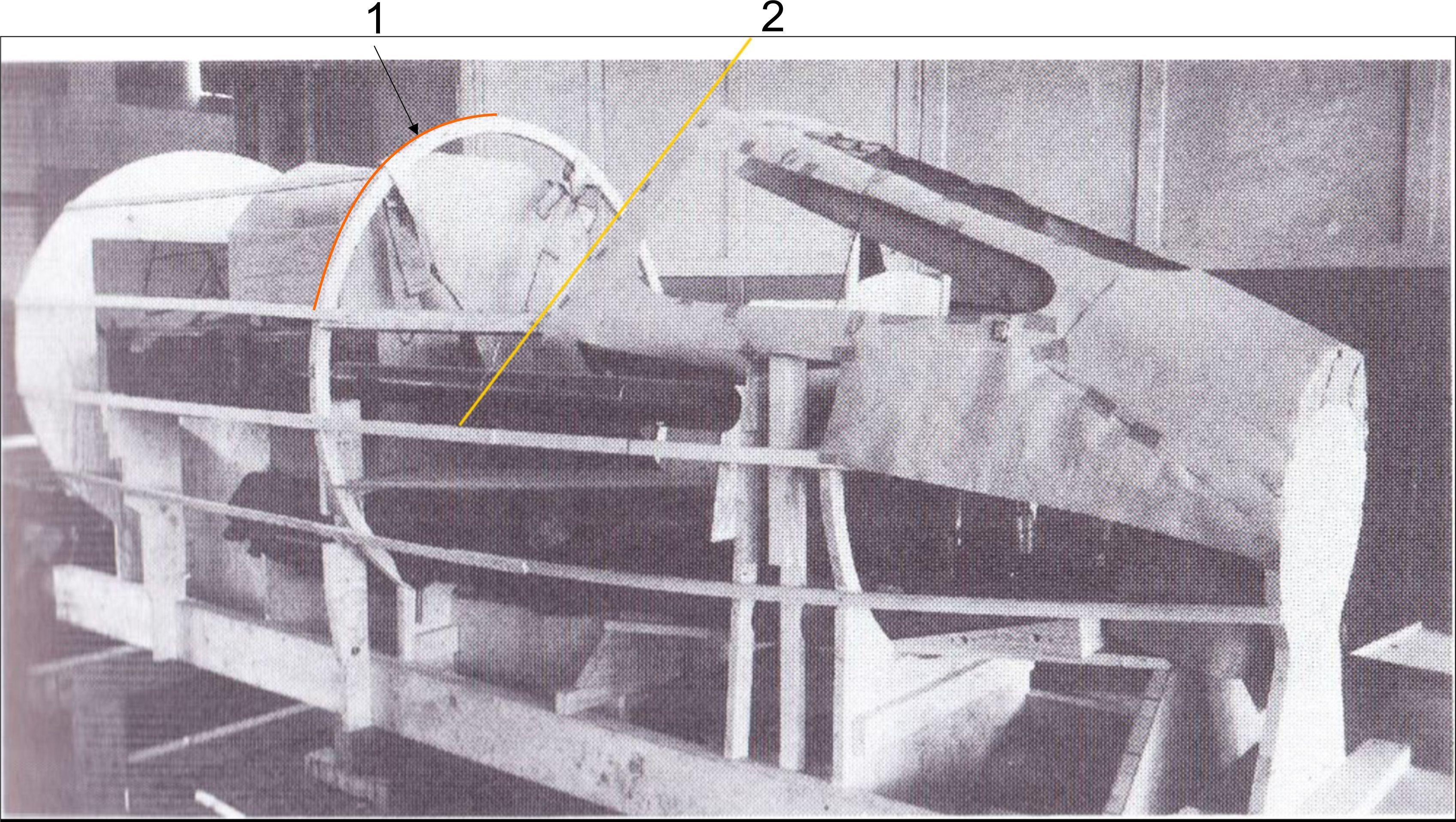 Cockpit Seite mit