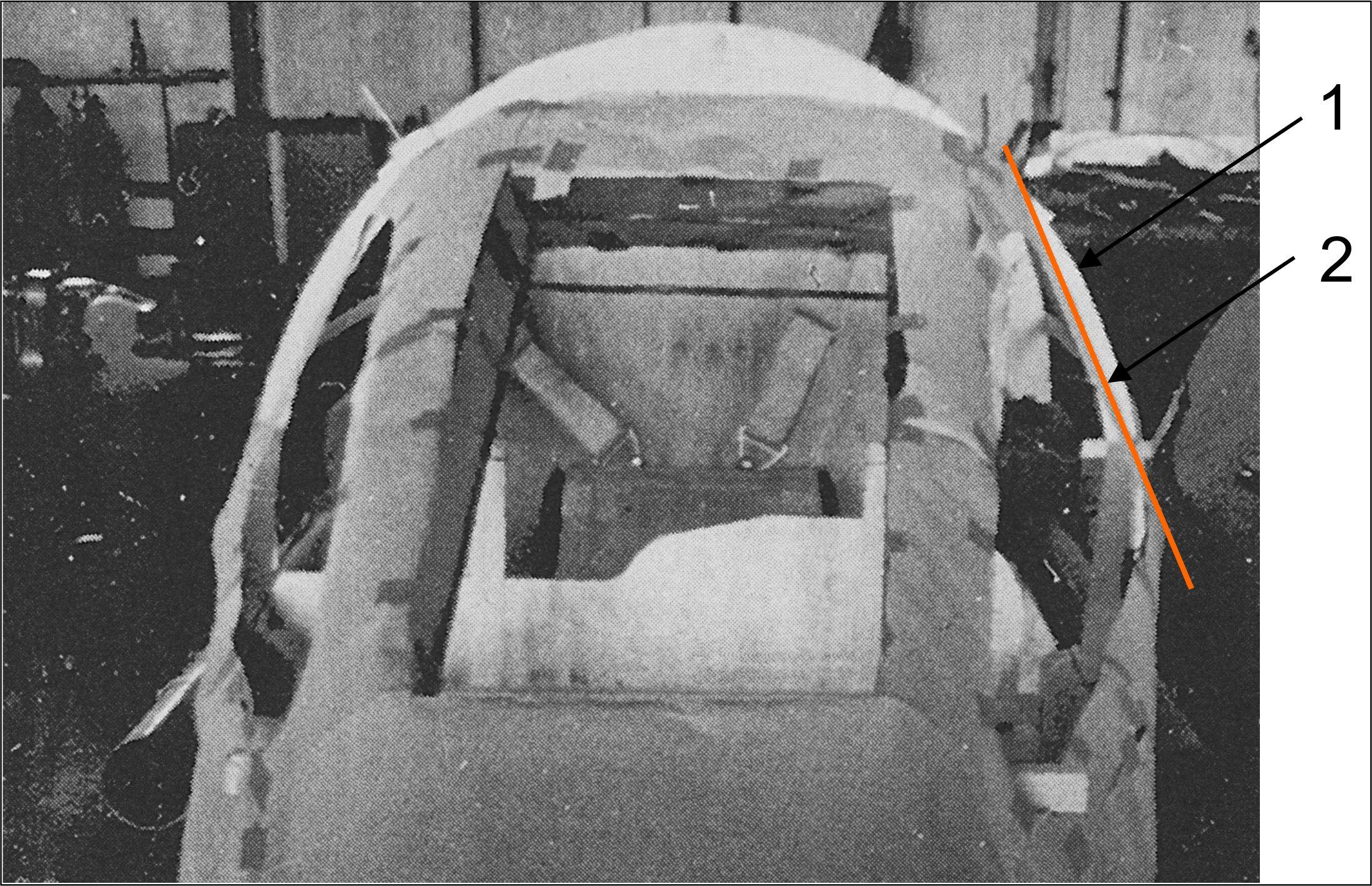 Cockpit von vorn